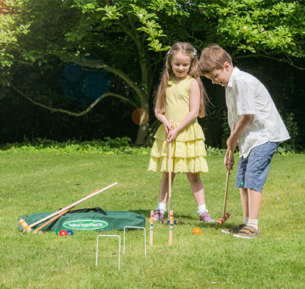 75cm Junior Croquet Set in Canvas Bag